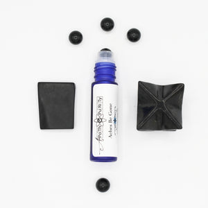 Aches Be Gone - Black Onyx Crystal Aromatherapy Roll-on
