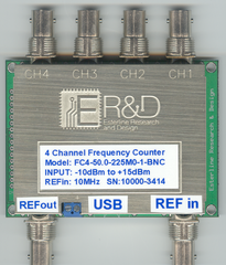 FC4 4 Channel Frequency Counter