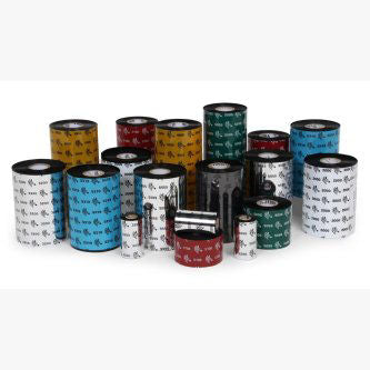 Zebra Bar Code Ribbons 02000BK15645