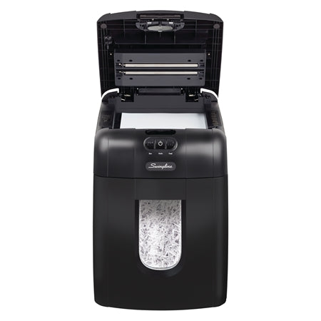 Swingline Auto Feed Shredder, Super Cross-Cut, 130 Sheets