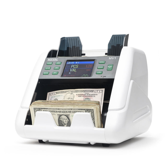 MIXVAL MV1 Single Pocket Mixed Money Counter