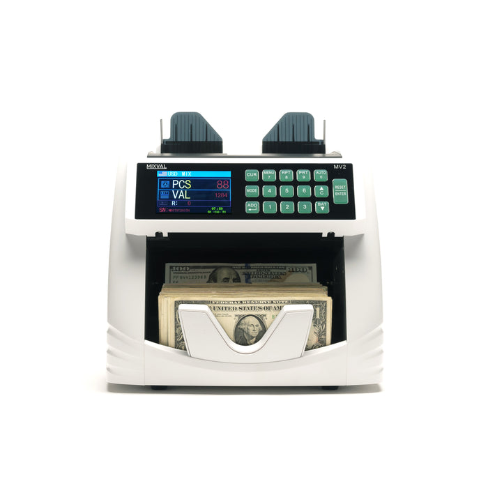 MIXVAL MV2 Bank Grade Mixed Money Counter