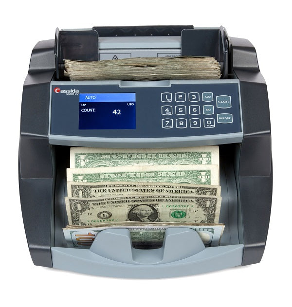 Cassida 6600 UV Money Counter