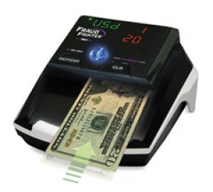 Fraud Fighter CT-550 Portable Counterfeit Bill Detector