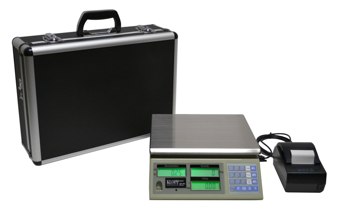 KLOPP Model KCS-60 Coin Counting Scale