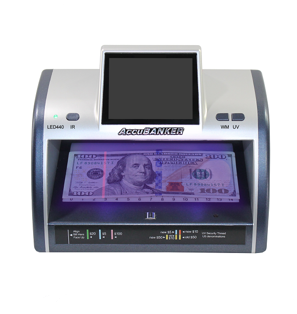 AccuBANKER LED440 IRSpy Counterfeit Bill and Card Detector
