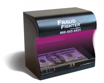 Fraud Fighter UV-16 Counterfeit Bill and Card Detector