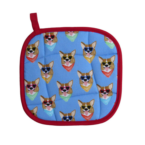 Corgis  Pot Holder