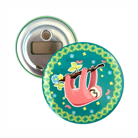 Sloth Magnetic Bottle Opener
