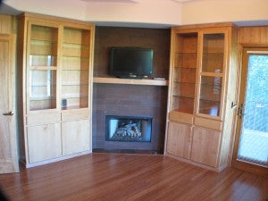 Stand Woven Bamboo Flooring - Broken Top Home in Bend, OR