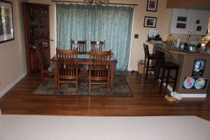 Wool Carpet and Strand Woven Bamboo Flooring  - Westside Bend OR