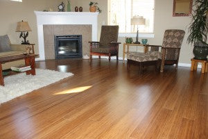 Strand Bamboo Flooring, Wool Carpet and Marmoleum Flooring