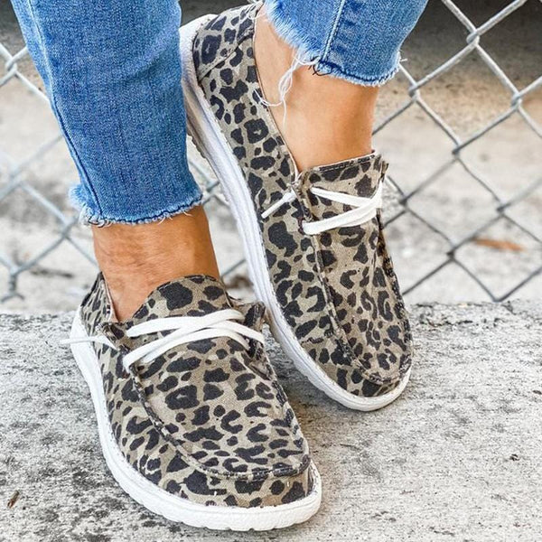 Women Low Top Slip-On Loafers