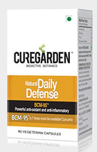 Load image into Gallery viewer, Curegarden Daily Defense - Turmeric Extract Capsules (60 Caps.) | HSN No. 33019014 | FSSAI No. 10014041000438