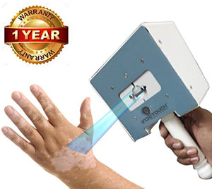 INDETOUCH® SPOT NBUVB Phototherapy Device; Treatment For Psoriasis, Vitiligo (Adjustable Spot Opening/Targeted Exposure)