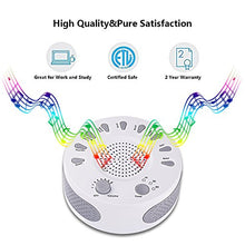 Load image into Gallery viewer, Rekome Sleep Helper Sound Relaxation Machine with 9 Unique Natural Sounds (White)