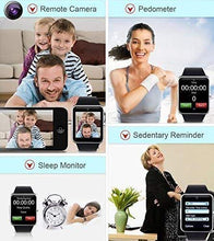 Load image into Gallery viewer, Bluetooth Smartwatch Compatible with All Mobile Phones for Boys and Girls Smart Watch (Gold)