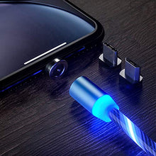 Load image into Gallery viewer, LED Light Flow Cable Fast Charging Cable Type C Charging Cable for All Phones and Tab Models
