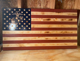 "Basic US Flag 35"" x 19.5"""
