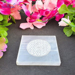 Bracelet Charging Selenite Plate- Eye of Horus