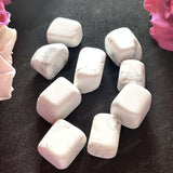 Howlite Tumble Stone (Pack of 4 Stones)