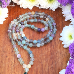 Fluorite Japa Mala: For Harmonizing Spiritual Energy