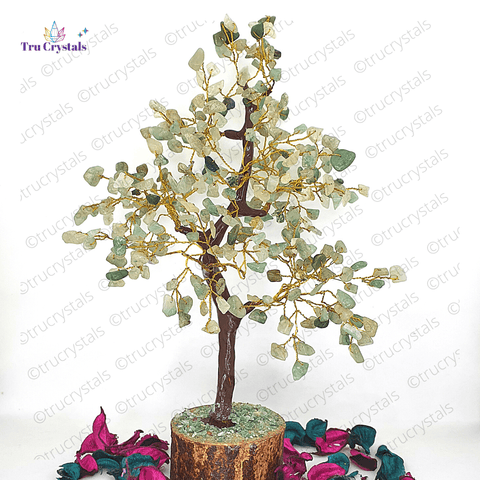 Green Aventurine Tree For Wealth & Opportunities