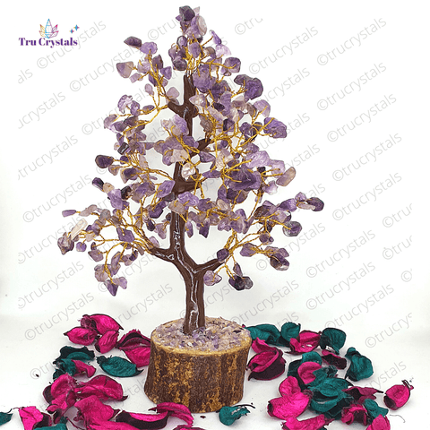 Amethyst Tree For Serene and Peaceful Home/Office