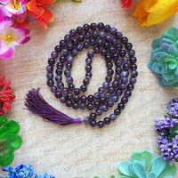 Amethyst Japa Mala: To Relieve Stress