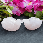 Mandarin Rose Quartz Ducks- To attract love and Passion