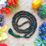 Indian Blood stone Japa Mala: For Mental Clarity & Decision Making