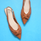 Kayla Upper Pointed- Toe Flat Shoes - WISAKI ONLINE STORE