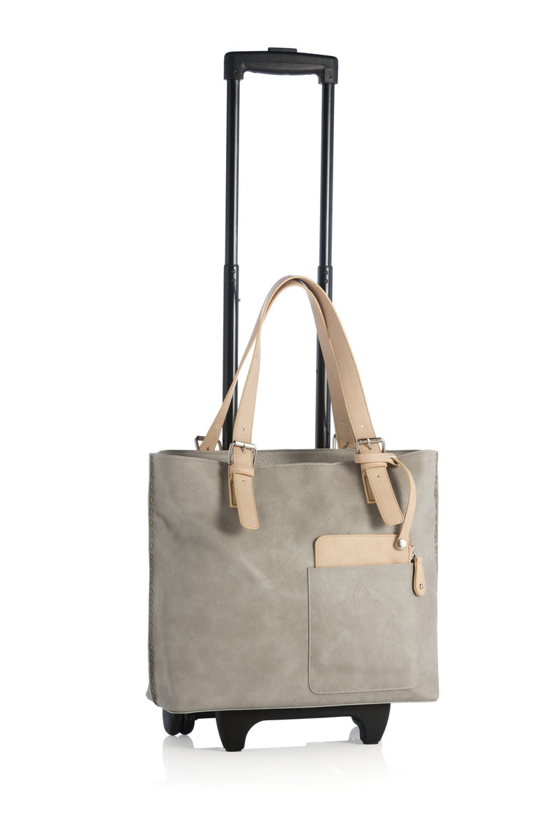 Chicago Roller Tote - Pebble - WISAKI ONLINE STORE