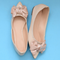 Neptune Pointy Toe Flat Shoes - WISAKI ONLINE STORE