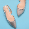 Ella Pointd Toe Flat Fancy Shoes - WISAKI ONLINE STORE