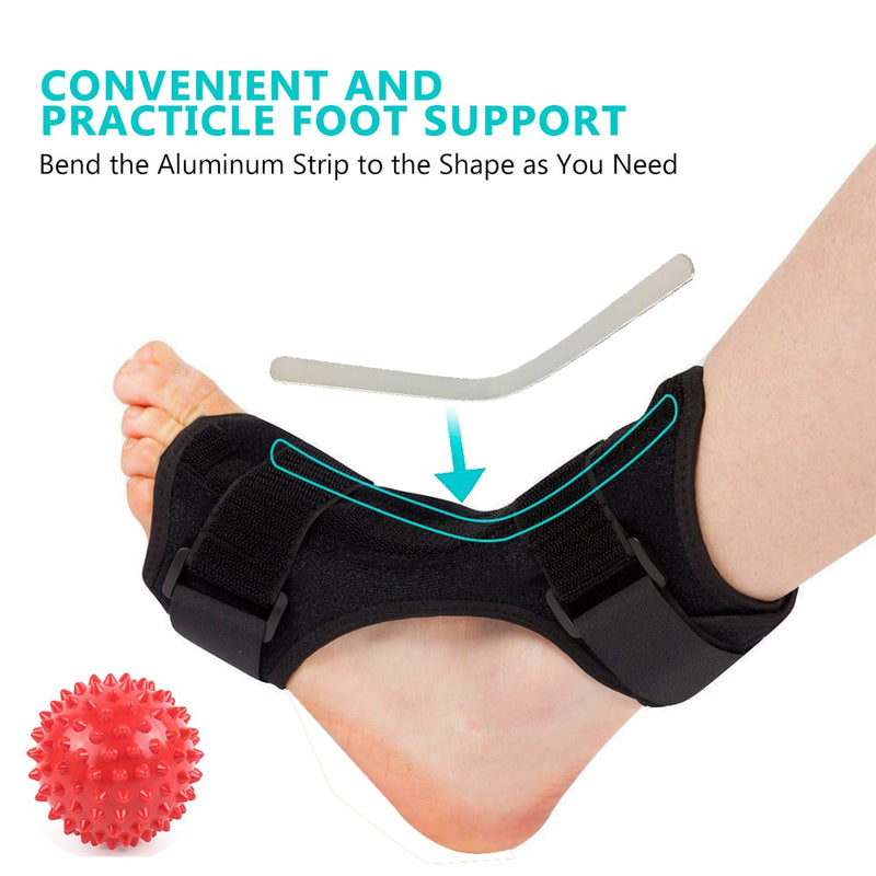 Adjustable Foot Orthosis Plantar Fasciitis Dorsal - WISAKI