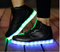 Black Light up Sneakers - WISAKI ONLINE STORE