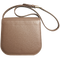 Midi Shoulder Bag Taupe-Red - WISAKI ONLINE STORE