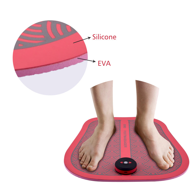 Rechargeable USB EMS Foot Massage Mat - WISAKI ONLINE STORE