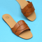 Saintly Blue, Red, Brown Open Toe Sandals - WISAKI ONLINE STORE