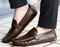 Full Grain Brown Loafers - WISAKI ONLINE STORE