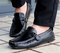 Black Casual Leather Loafers - WISAKI ONLINE STORE