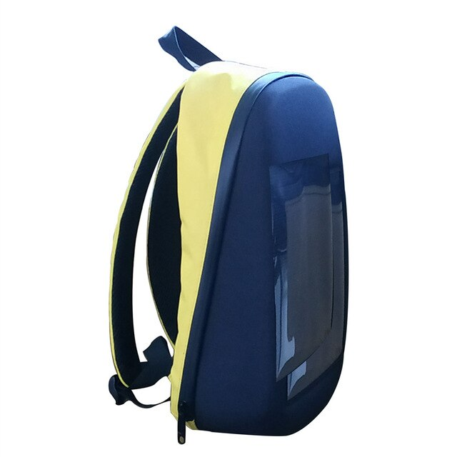 Litake LED Screen Display Backpack DIY Wireless Wifi APP Control Advertising Backpack - WISAKI ONLINE STORE