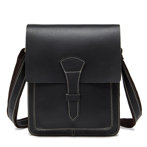 WESTAL crazy horse leather messenger bag - WISAKI ONLINE STORE