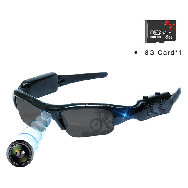 Video Camera Sunglasses Cam Video Snapshot Outdoor Sports Portable Full HD  Recorder - WISAKI ONLINE STORE