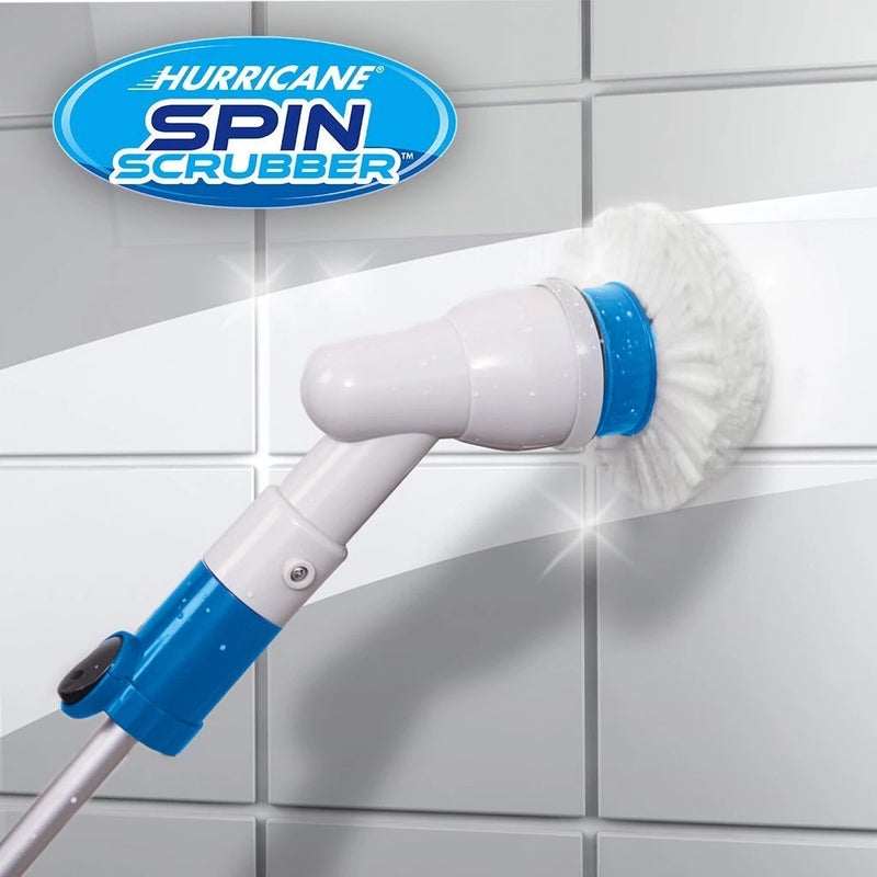 Hurricane Spin Scrubber Cordless Rechargeable Power - WISAKI ONLINE STORE