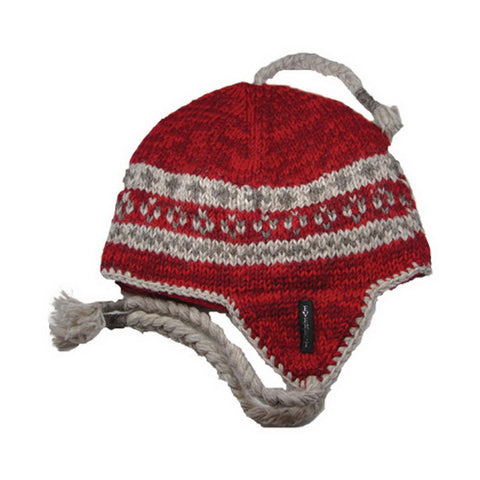 Nordic Earflap Red - 10157