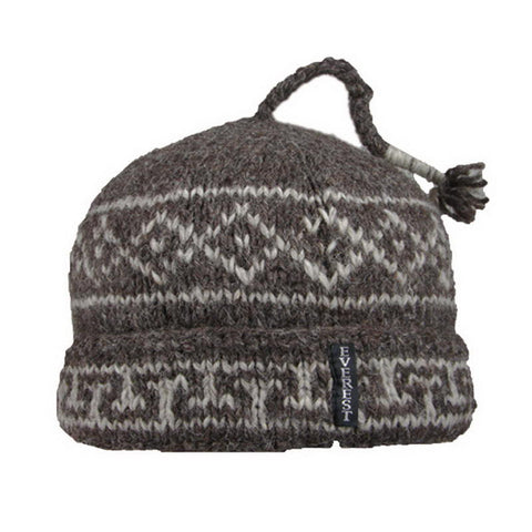 Classic Cuff Beanie Natural Brown - 20209