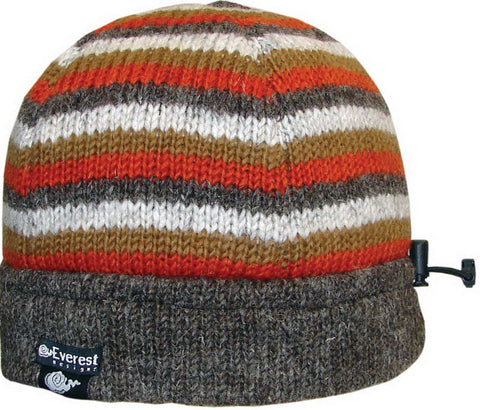 Bam Bam Beanie Orange Stripe - 31603