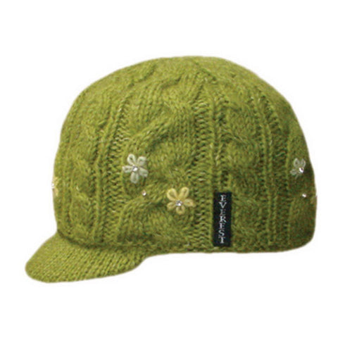 Flower Cable with Visor Green - 43802